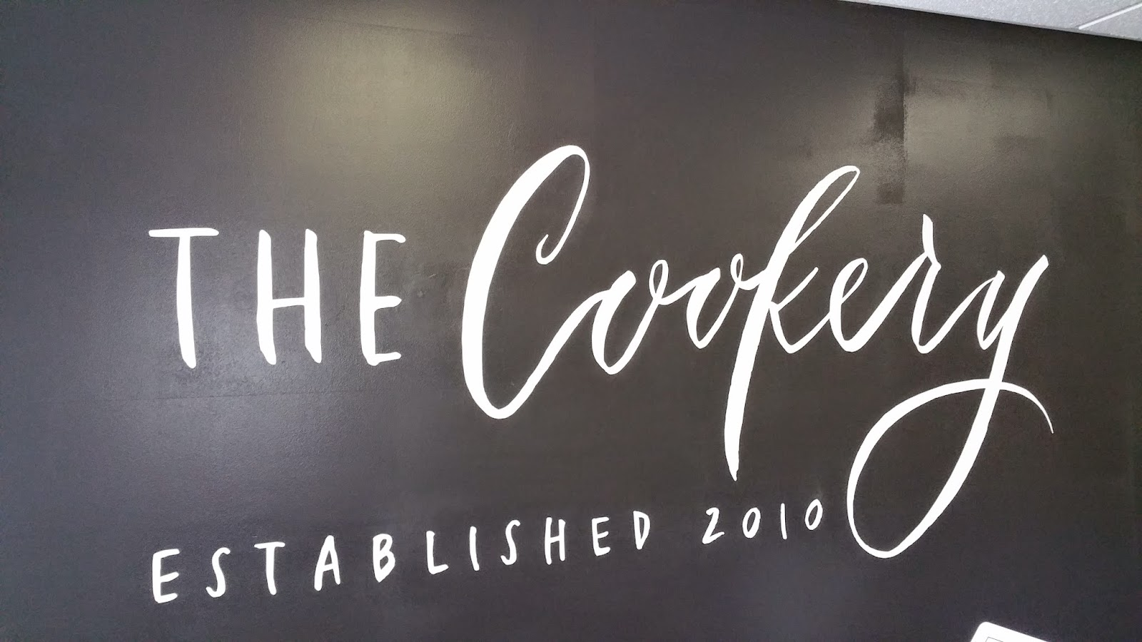 The Cookery Bistro Wall Decal Logo
