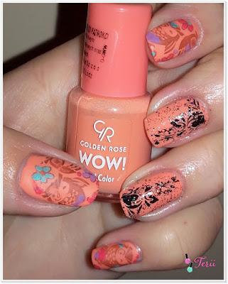 WOW! Lakier Golden Rose 35,  beauty-styl.pl