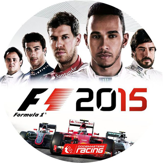 Label F1 Formula 1 2015 PC