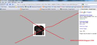 cara menghilangkan google images frame di blog