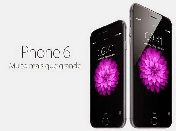 7fe5e65e45d Gadgets.  Apple anuncia três dispositivos  iPhone 6