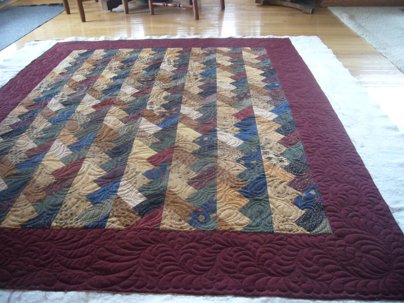The Quilted Pineapple Oh Beautiful Braid Quiltquilted