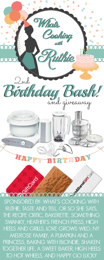 Enter to win a Bosch Universal Plus Mixer or $100 gift cards to some awesome stores! at LoveGrowsWild.com #giveaway