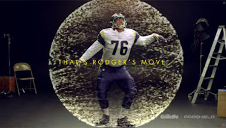 New Gillette Commercials Show Dancing NFL Offensive Linemen including Rodger Saffold of the St. Louis Rams