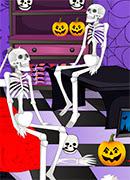 Уборка на Хэллоуин - Онлайн игра для девочек