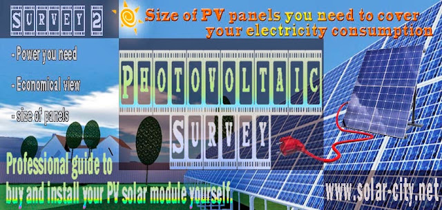 Size of pv panels you need to cover your electricity consumption