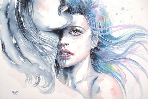 18-Keep-Me-safe-Erica-Dal-Maso-Expressing-Emotions-Through-Watercolor-Paintings-www-designstack-co