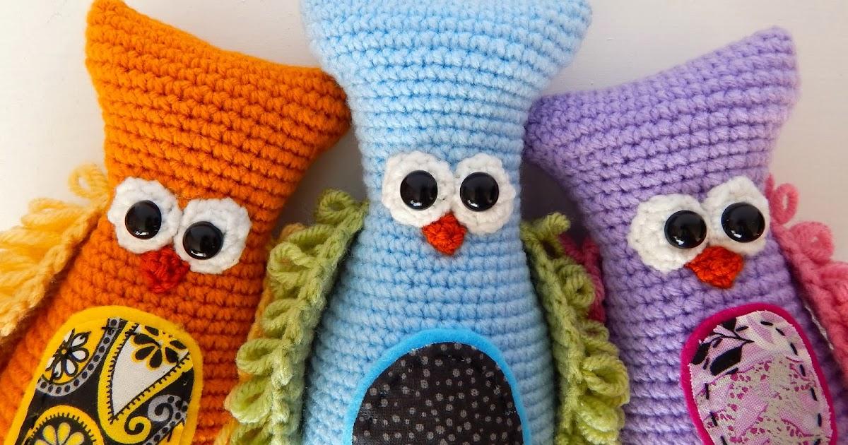 Amigurumi Owl Beak : A[mi]dorable Crochet: Owl Pattern