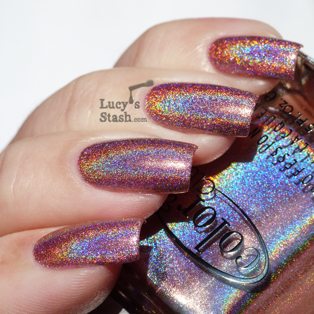 Lucy's Stash - Color Club Miss Bliss