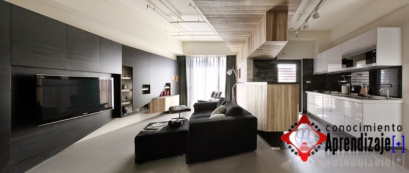 Conocimiento aprendizaje dise o de interiores for Apartamentos disenos modernos