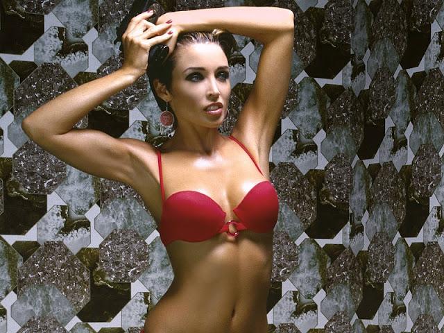 Dannii Minogue in Bikini