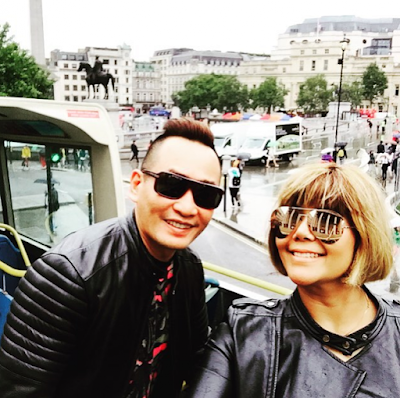 Foto: AC Mizal & Keluarga 'Goes Hollywood' Di Kota London