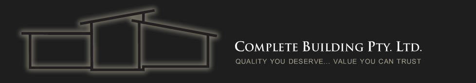 COMPLETE BUILDING PTY LTD