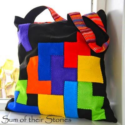 Tetris Tote Bag