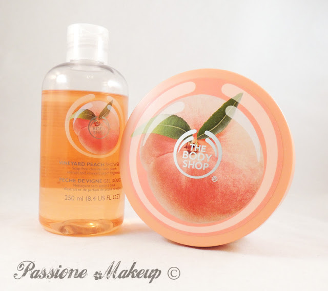 the body shop pesca della vigna