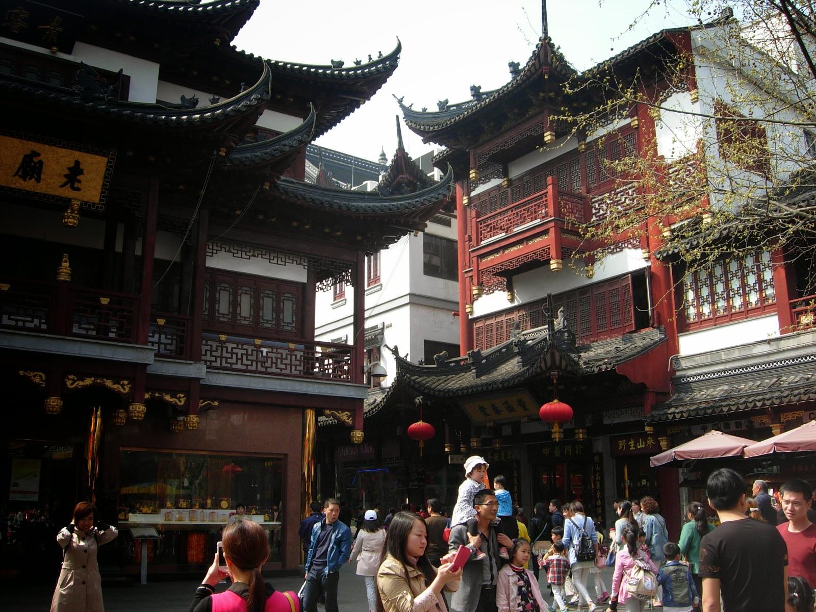 Pizza fichi e zighin shanghai tutti pazzi per lo shopping - Giardino del mandarino yu ...