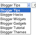 How To Create Drop Down Menu Form with GO Button for Blogger Blogs