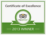 BALI EMERALD VILLAS EARNS 2013 TRIPADVISOR CERTIFICATE OF EXCELLENCE