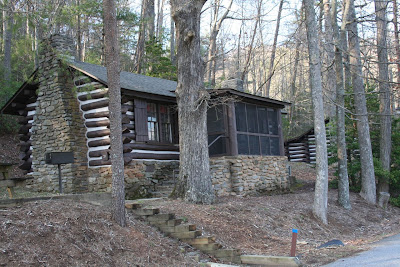 Blue roads to hiking trails vogel state park for Cabin rentals near hiking trails