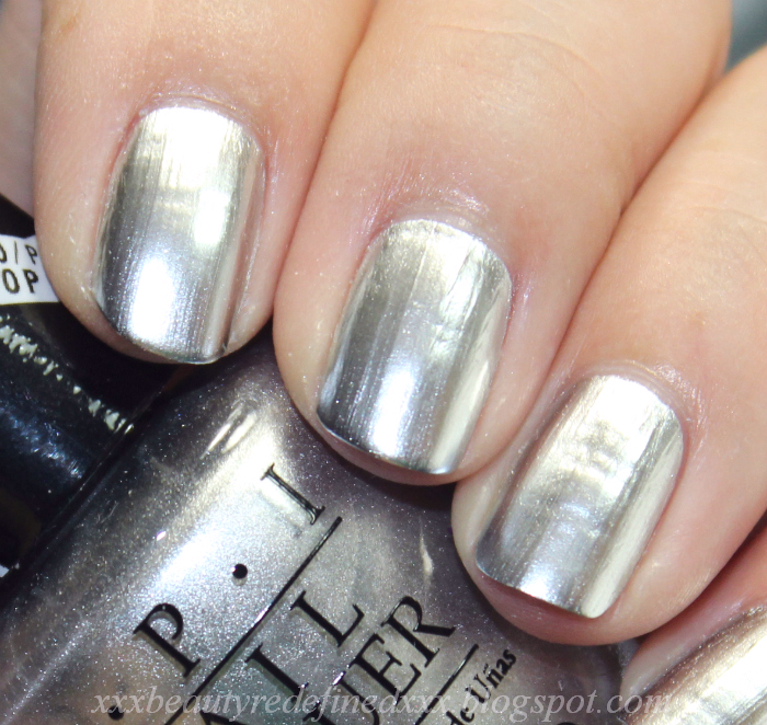 BeautyRedefined By Pang: OPI Push And Shove