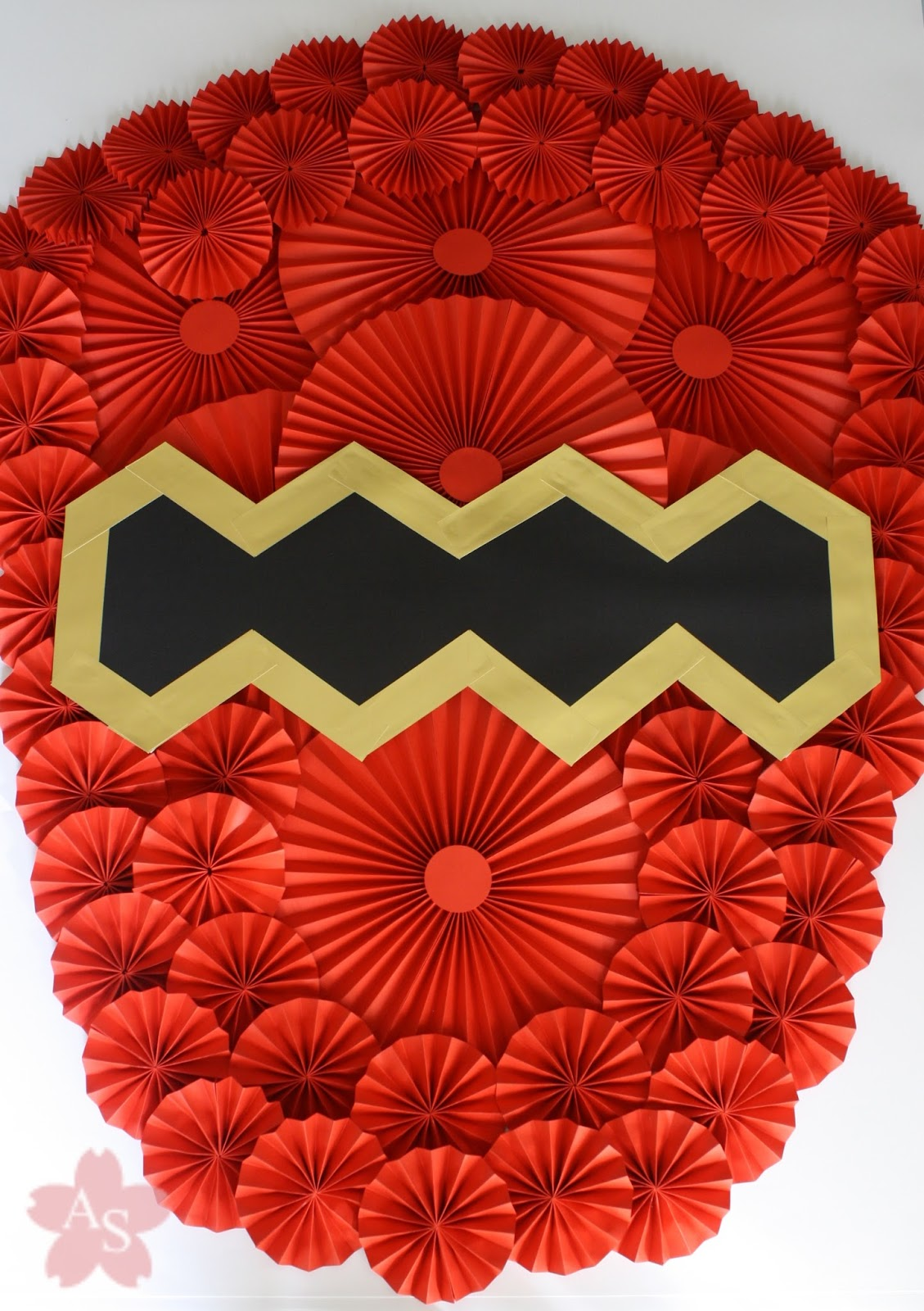 adriana suzuki festa power rangers com origamis