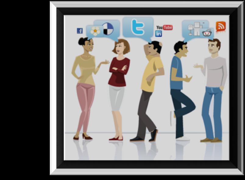 Aktif di Berbagai Situs Sosial Media