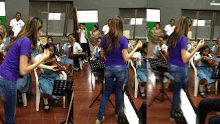 Un nuevo grupo de maestros financiados por Reficar y dirigidos por Edgar Avilán trabajan al frente de la Orquesta Sinfónica del INEM Cartagena Co.