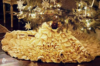 karácsonyfa talp takaró