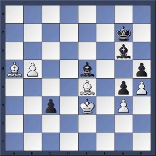 Echecs & Finale : Les Noirs jouent et gagnent en 7 coups