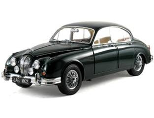 Jaguar Diecast  Model Icons 10002 1962 Jaguar MK II Green