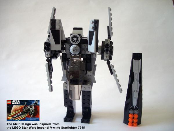 Lego Star Wars Imperial V Wing Starfighter 7915 Lego Star Wars
