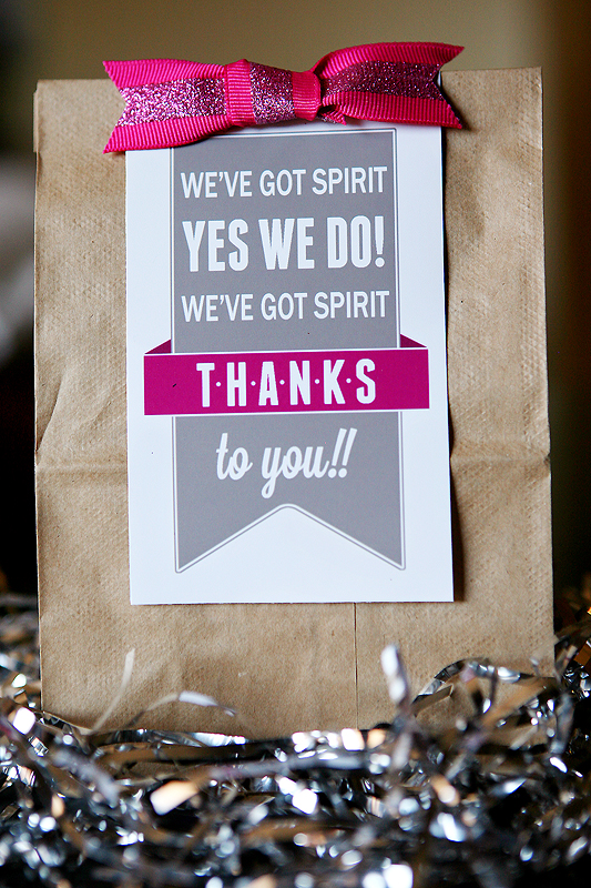 quick and easy cheer gifts - Eighteen25