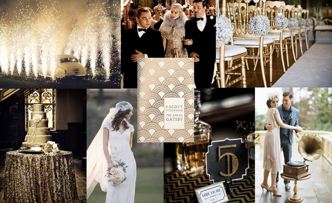 The White House Wedding Favors Co Your Great Gatsby Inspired Dream