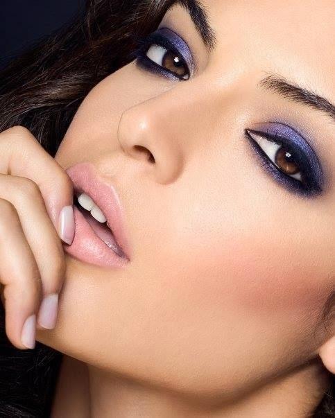 modèle maquillage 2014 pour yeux noisettes