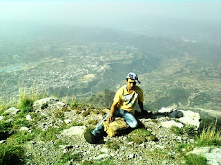 View of Katra Town from Vaishno Devi
