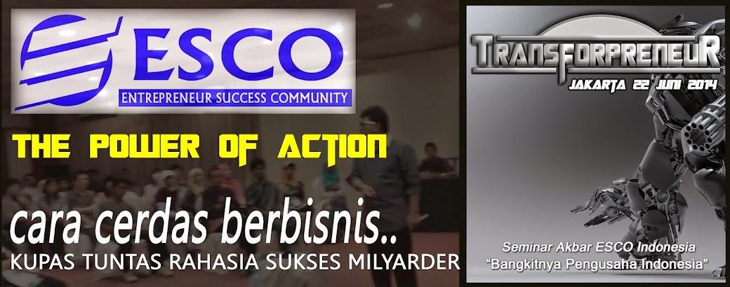 ( ESCO ) ENTREPRENEUR  SUCCESS  COMMUNITY