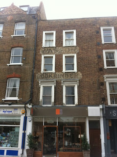 Ghost sign on Crawford Street, London W1