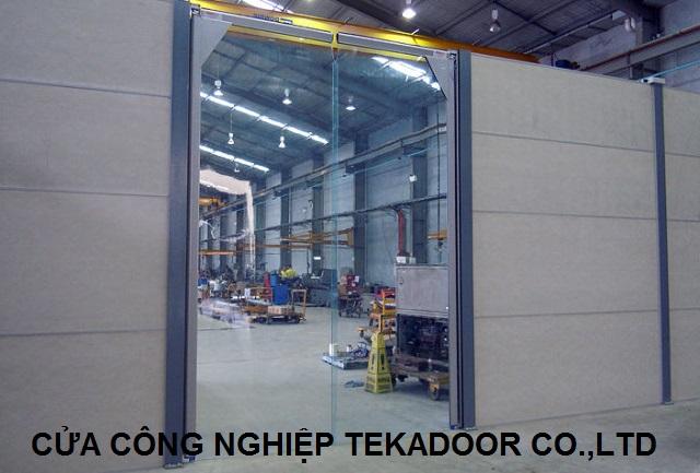Cửa xoay tự động PVC Thermal Swing door
