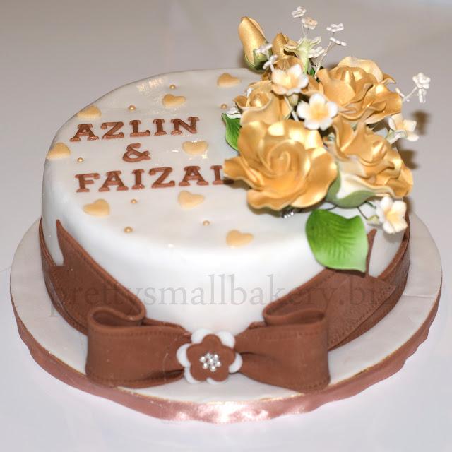 kek tunang - kek hantaran tunang - kek pertunangan