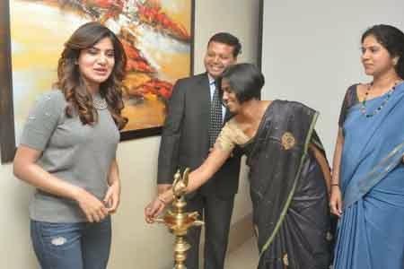 Samantha's Prayusha NGO Special Event Photos