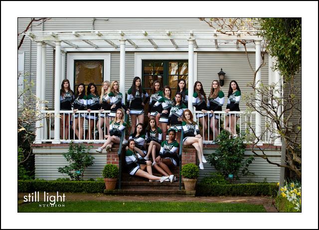 Mercy High School San Francisco Spirit Squad sports photography by Still Light Studios