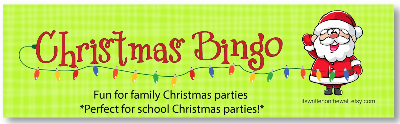 do you have any party games lined up for the kids to do at your family christmas party or your get together with friends well look no further - Christmas Bingo For Kids