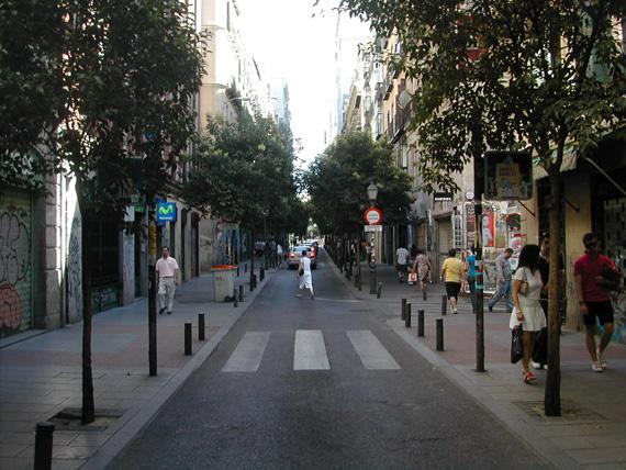 hostales en calle fuencarral madrid: