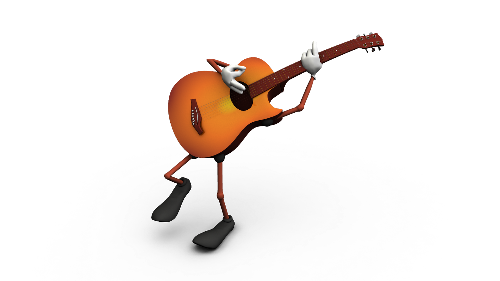 3D BUG: 3D toony musical instruments