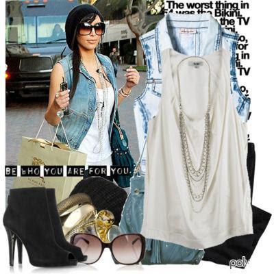 Kardashian Clothes on Star Style Kim Kardashian