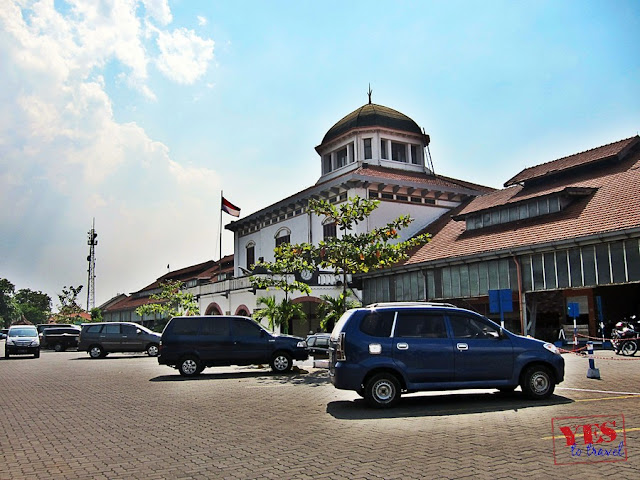 Semarang's Tawang Train Station