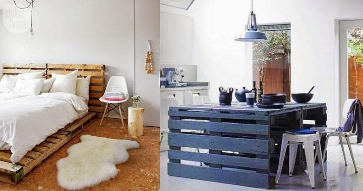 Decora hogar 28 fotos de decoraci n ecol gica con muebles for Decoracion reciclaje interiores