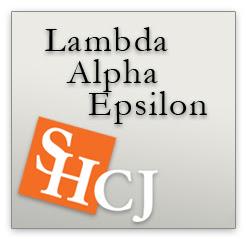 Lambda Alpha Epsilon logo