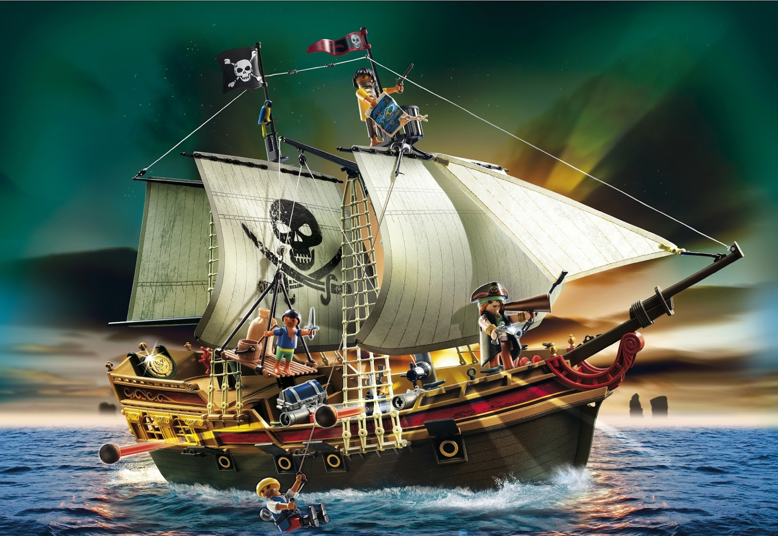 playmobil piratenboot