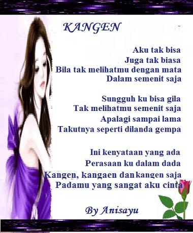 Cinta on Selamat Datang Di  Puisi Cinta By Anisayu